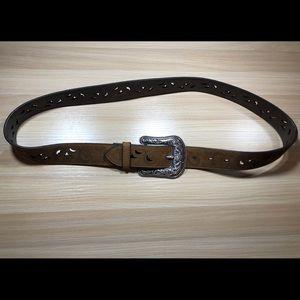 Ariat Brown Leather Belt